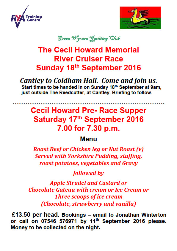 2016 Cecil Howard Race